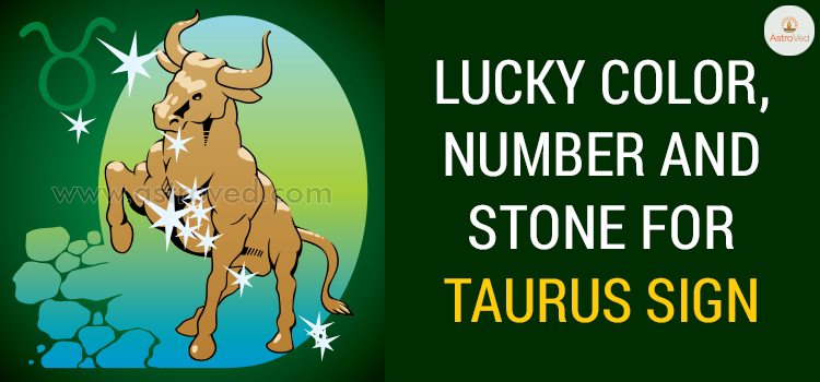 Lucky Color, Number and Stone for Taurus Sign