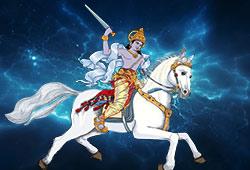 Archetype Kalki and White Horse