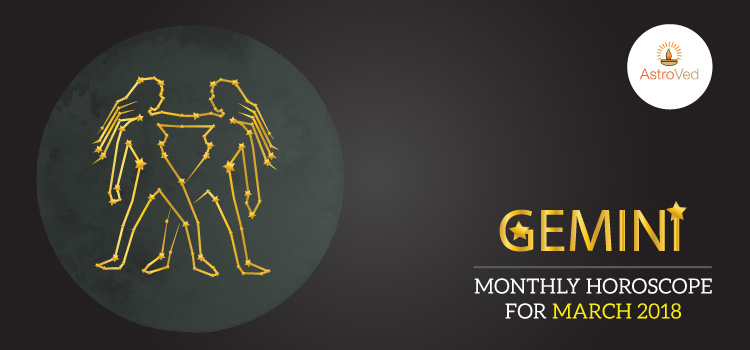 Gemini Monthly Horoscope for March 2018