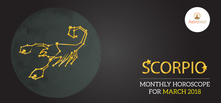 Scorpio Monthly Horoscope for March 2018