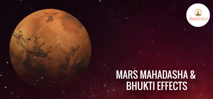 Mars Mahadasha