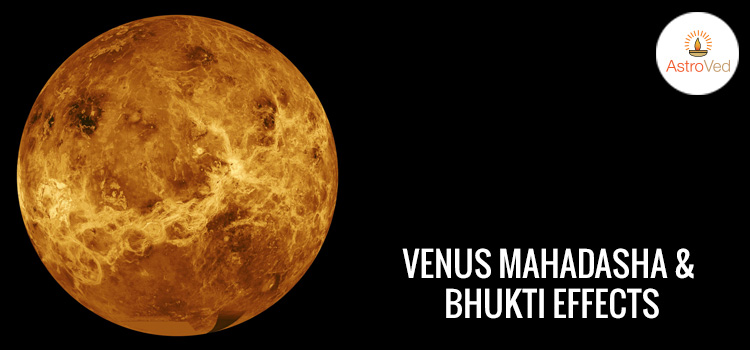 Venus Mahadasha