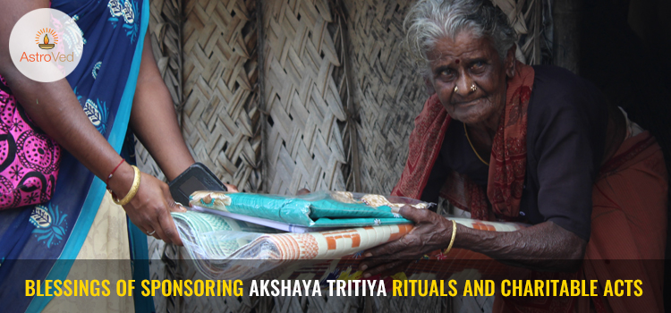 Benefits of Special Donations on Akshaya Tritiya