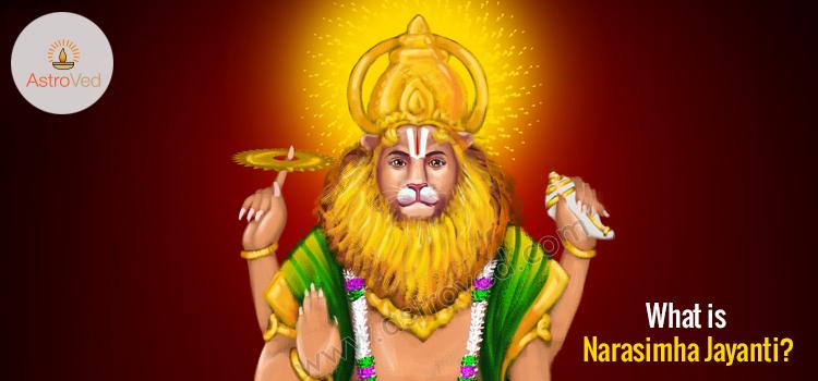 What is Narasimha Jayanti?