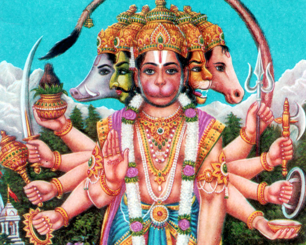 Five Faced Hanuman