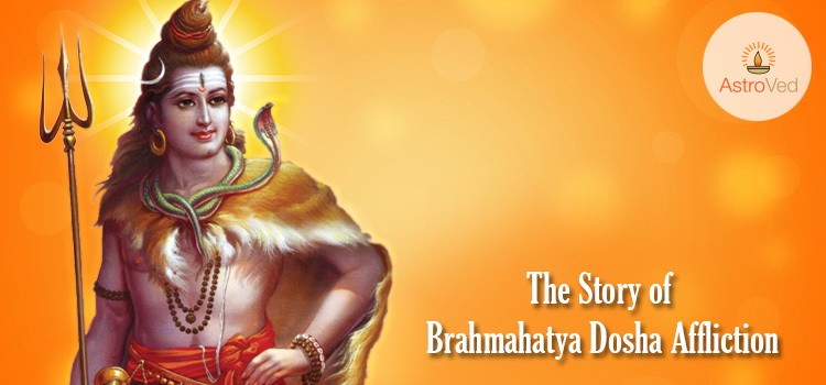 The Story of Brahmahatya Dosha Affliction