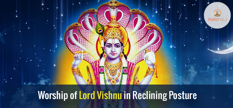 worship-of-lord-vishnu-in-reclining-posture