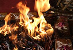 Grand Sarpa Bali Fire Pooja