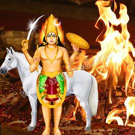 Individual Unmatha Bhairava Homa (5th Form of Bhairava)