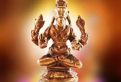 1.5-Inch Hayagriva Statue