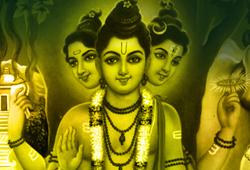 Abishekam (Hydration Pooja) to Lord Dattatreya