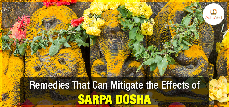 Remedies That Can Mitigate the Effects of Sarpa Dosha