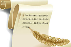 Mantra Writing