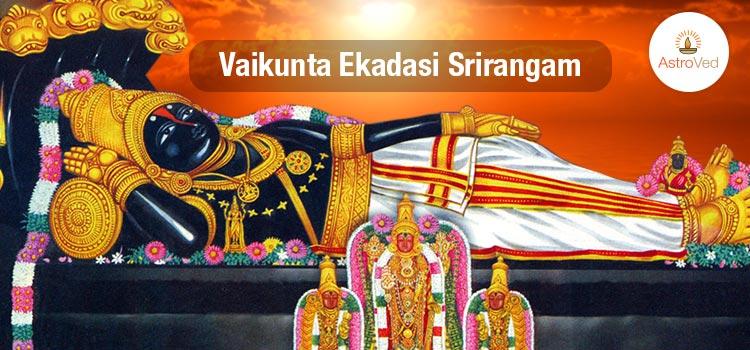 Vaikunta Ekadasi Srirangam
