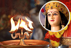 Archana (Pooja) to Goddess Durga at 3 Powerspots