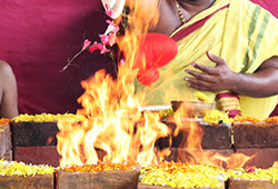 9 Priest Grand Moola Mantra Samputitha Chandika Parameshwari (Chandi) Fire Lab