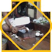 Bhagya Muttu (Kerala-style coconut breaking ritual)