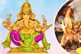 Grand 11-Priest Haridra Ganapati Fire Lab