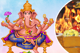 Grand 5-Priest Kshipra Ganapati Fire Lab