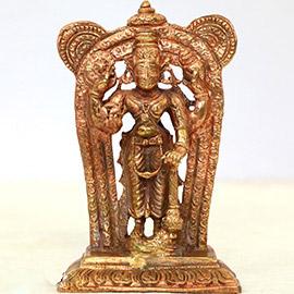 Energized 3.5 Inch Guruvayurappan Statue