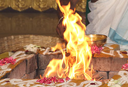 Guru Preeti Homa (Jupiter Pacifying and Blessing Fire Lab)
