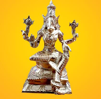 Energized 5-Inch 5-Metal Varahi Statue