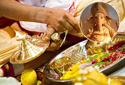 Lord Ganesha Hydration Pooja