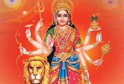 Chanting Durga Ashtottaram