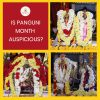 Is Panguni month auspicious