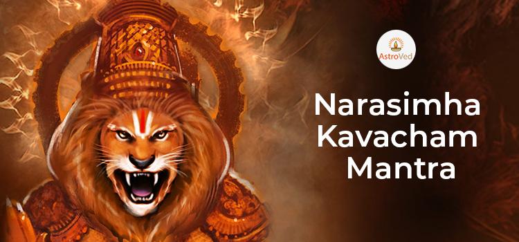Narasimha Kavacham Mantra