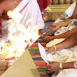 Runa Mochana Angaraka Stotram Chanting Followed By Bhagya Suktam Homa