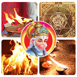Saturn Birthday Package + Saptamukhi Veera Hanuman Homa Basic Package