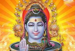 Shiva as Karkodeswarar