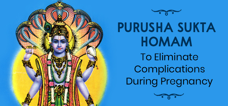 Purusha Sukta Homam to Eliminate Complications During Pregnancy