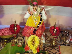 Grand Invocation of Goddess Bala with 108 Kalasa Pooja + Hydration Pooja + Fire Lab