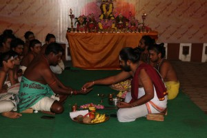 Diwali 2017 - Day 2: Shreem Brzee Chanting by 27 Vedic Boys