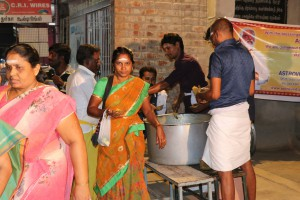 Anna Abishekam 2017: Food Feeding at Thiruvanamalai