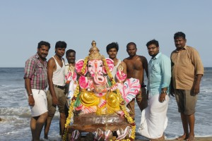 Ganesha Chathurthi 2015 - Ganesha Immersion